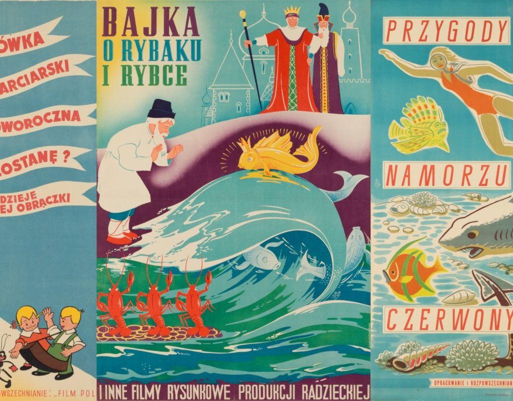 Plakaty Bajkowe W Zbiorach Muzeum Okręgowego W Tarnowie