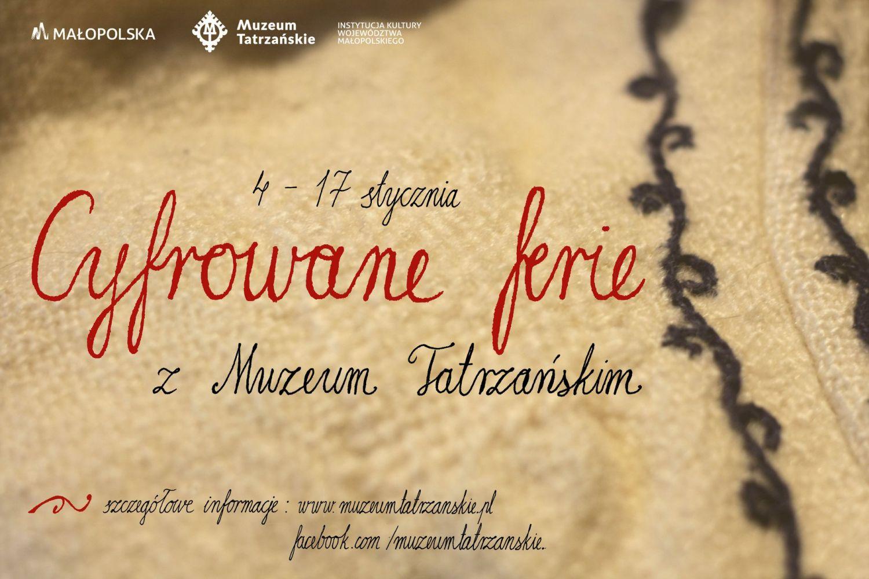 Cyfrowe ferie zMuzeum Tatrzańskim. Grafika