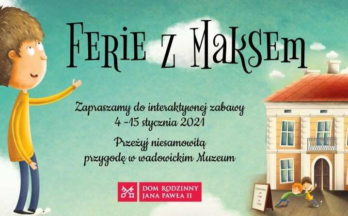 Ferie zMaksem. Grafika promująca grę online