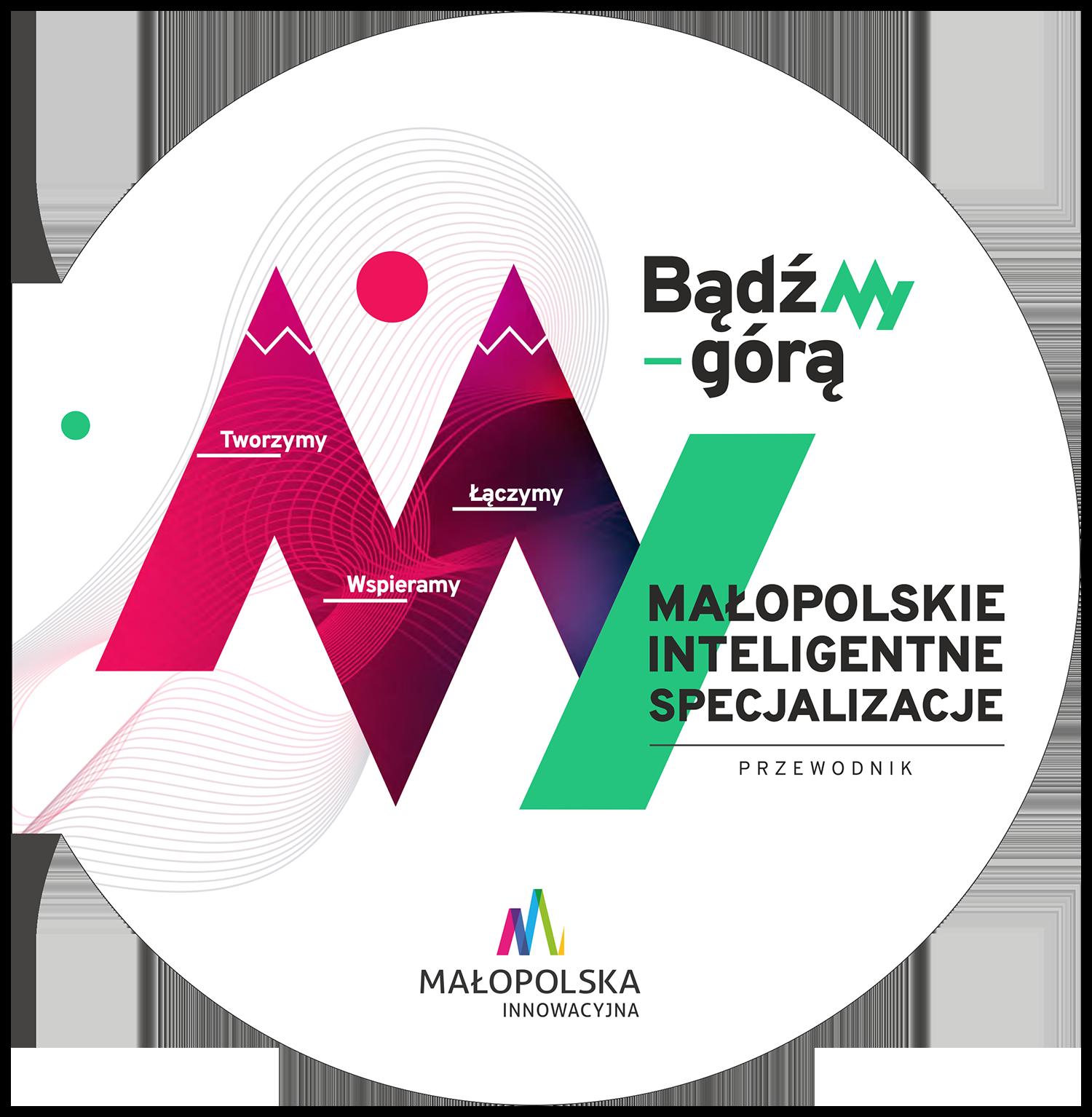 okładka publikacji poświeconej inteligentnym specjalizacjom małopolski