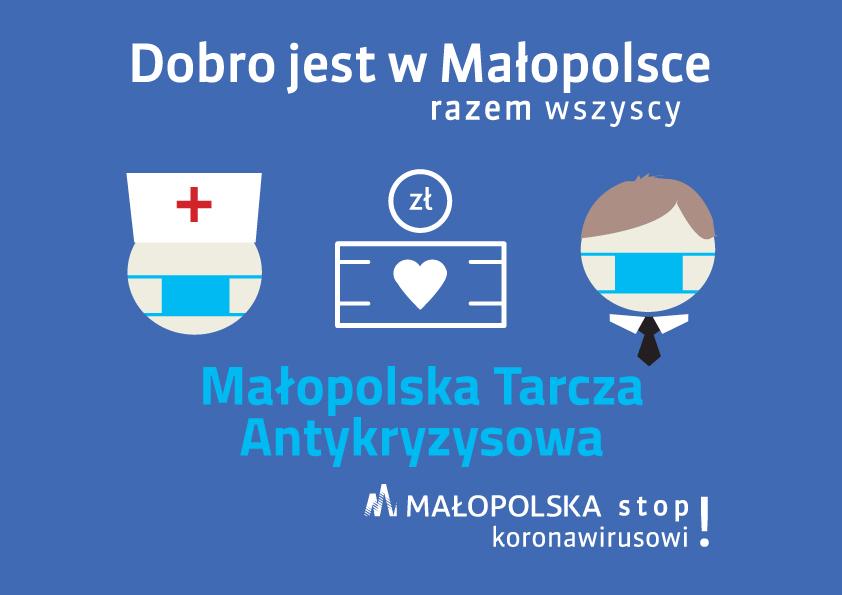 Logo - Małopolska Tarcza Antykryzysowa