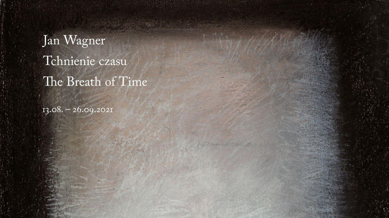 Tchnienie -grafika promująca wystawę.